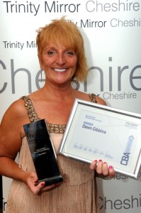Dawn Gibbins - Cheshire Business Awards Winner 2011