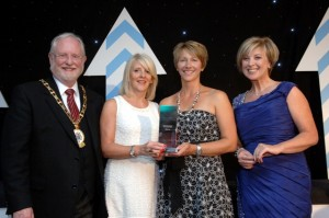 M&S Money CBA Winner - Cheshire Business Awards Winner 2011