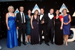 Blueleaf Winner - Cheshire Business Awards Winner 2011
