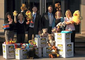 Stockport office on Greek Street - Toy Appeal