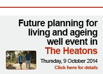 Future planning for living and ageing well in The Heatons