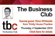 The Business Club Autumn event 2014