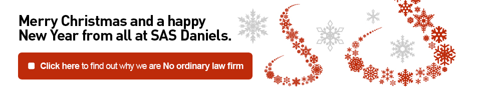 Merry Christmas from SAS Daniels LLP