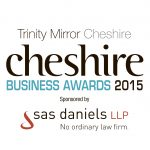 Cheshire Business Awards 2015 logo