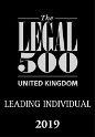 Legal 500 leading individual logo 2018