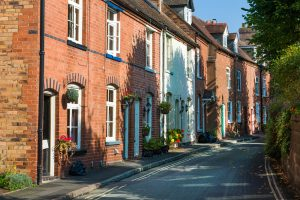 Bank of Mum and Dad blog: row of terrace houses