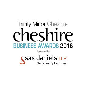 Cheshire Business Awards logo