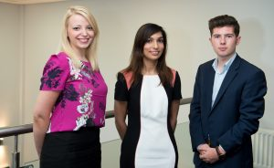 Rachel Condie, Aalia Ijaz and Dominic McGovern of SAS Daniels LLP