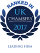 Chambers UK logo leading firm