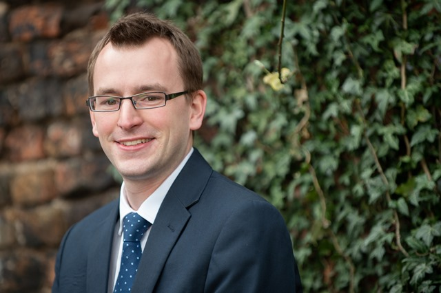 Tom Coulson, Property Paralegal at SAS Daniels Macclesfield