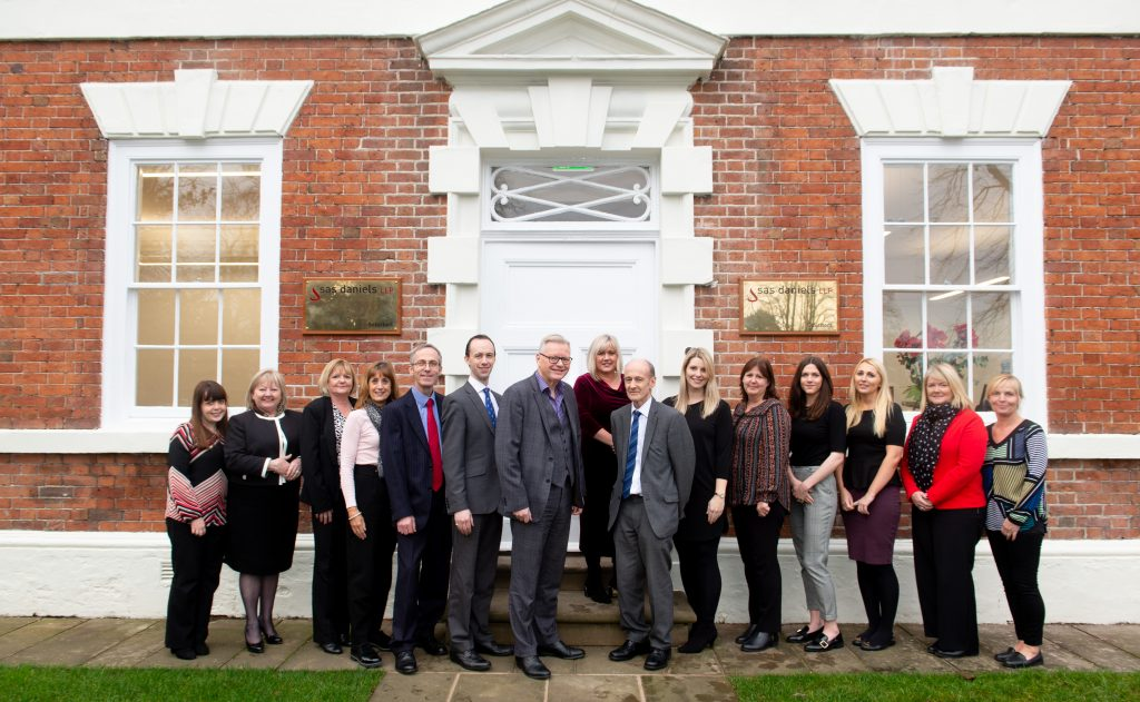 Chester law firm, SAS Daniels' team of solicitors in Chester