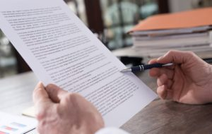 Reviewing an employment contract