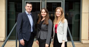 Trio of new recruits at SAS Daniels