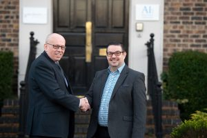 Martin O'Reilly (left), Director of Force Information Systems and Paul Tyrer (right), Partner at SAS Daniels