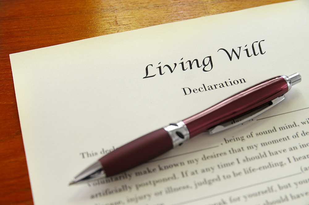 advance decision or living will declaration