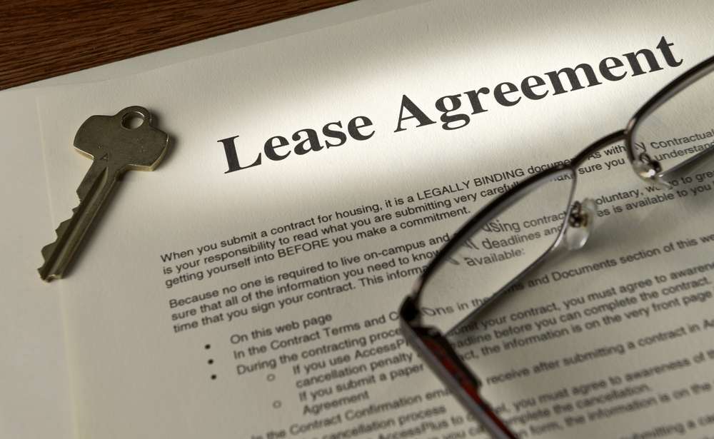 document to changing a commercial lease agreement