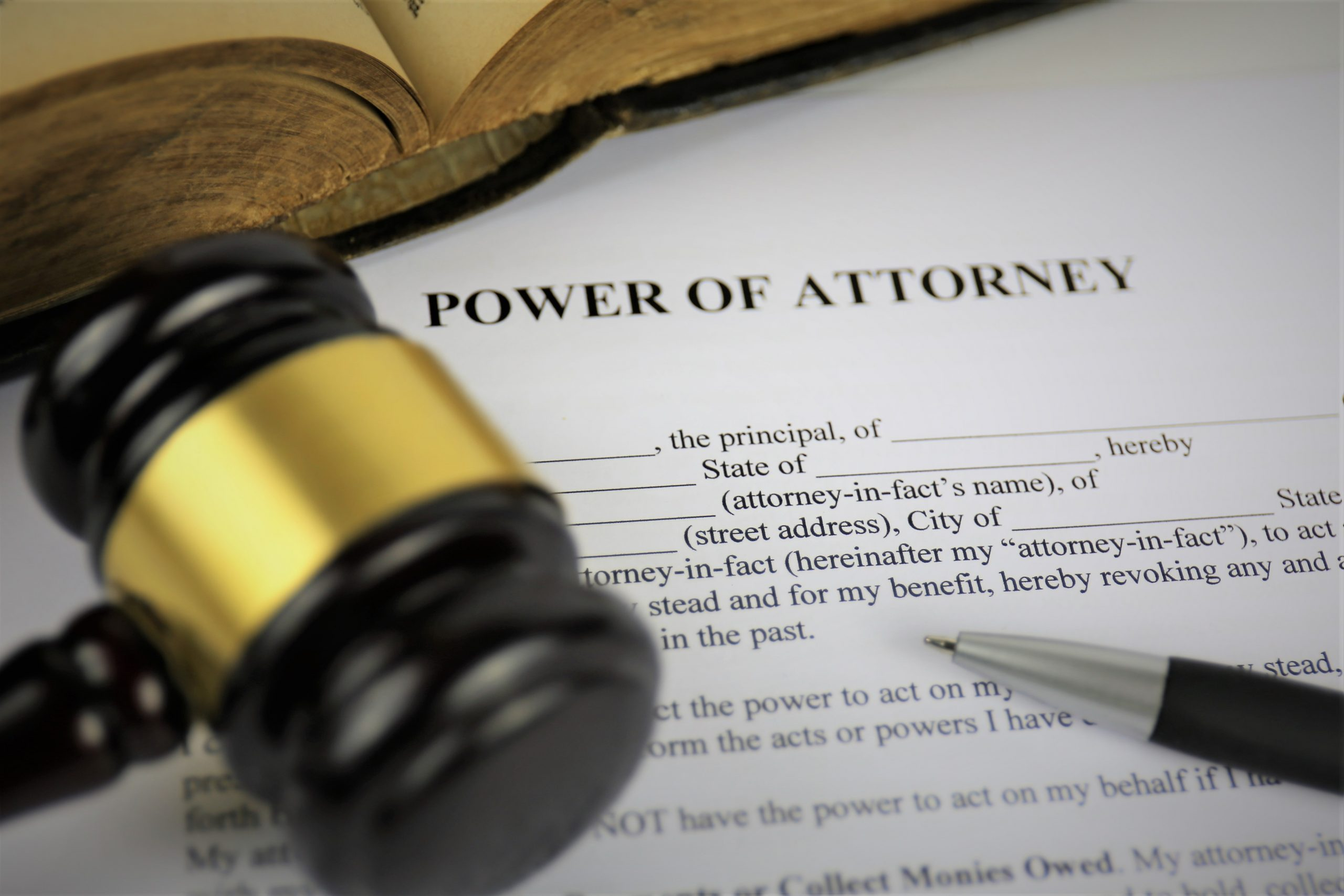 Document for Lasting Powers of Attorney