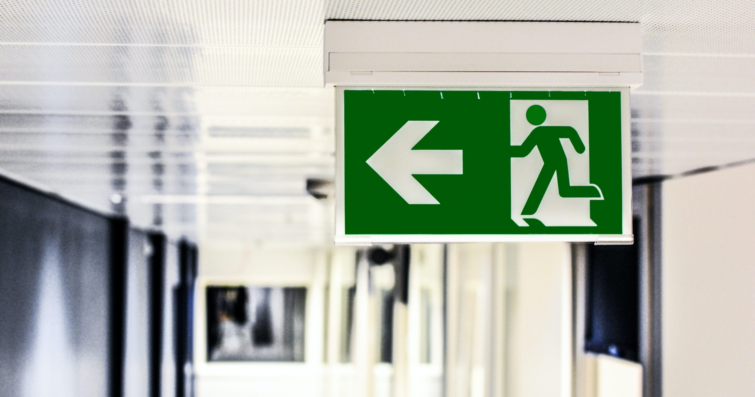 Exit sign - Paul Tyrer discusses Partial Exits in Growth Business